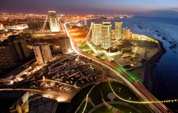 """Libijos sostinė """"Tripolis"""" prieš išvadavimą."""