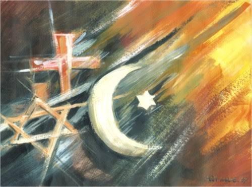 Religijos skilimas į tris. (autorius nežinomas)