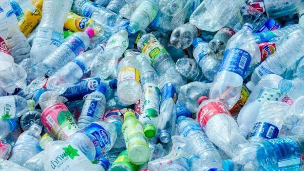 Plastikiniai buteliai