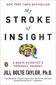 """Džill knyga """"Mano praregėjimo insultas"""" (angl. My Stroke of Insight)"""