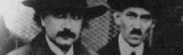 Nikola Tesla ir Albertas Einšteinas