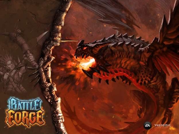"""Ugninis drakonas - """"Battleforge"""". (EA Phenomic)"""