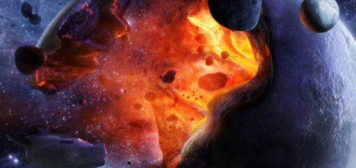 Faetono sunaikinimas - dailininko interpretacija.