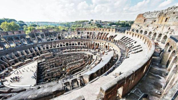 Gladiatorių arena (Alessandro Di MEO/EPA)